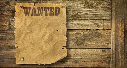 Wanted poster background